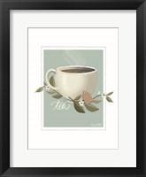 Framed Botanical Tea