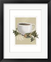 Framed Botanical Coffee