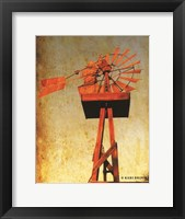 Framed Chip's Windmill I