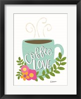 Framed Coffee Love