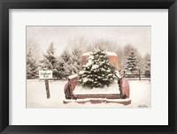 Framed Rustic Christmas Trees