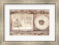 Framed Winter White View