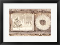 Framed Winter White View