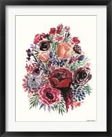Framed Moody Florals