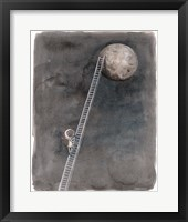 Framed Ladder to the Moon