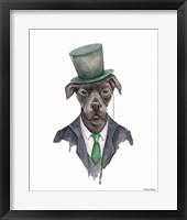 Framed Dapper Dog