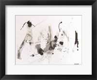 Framed Abstract  Ink
