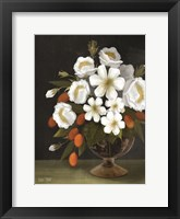 Framed Kumquats and Blooms
