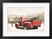 Framed Christmas Tree Pick