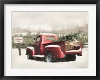 Framed Winter Stop