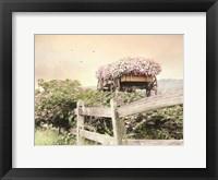 Framed Flower Wagon