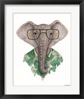 Framed Elephant in Eye Glasses