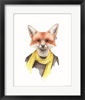 Framed Foxxy Fox