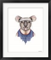 Framed Kewl Koala