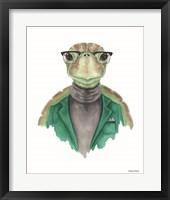 Framed Turtle in a Turtleneck