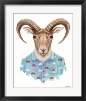 Framed Uriel in a Unicorn Shirt