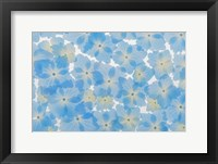 Framed Layout Of Hydrangea Blossoms