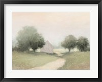 Framed Country Road Neutral
