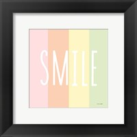 Framed Smile Rainbow