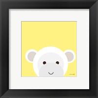 Framed Cuddly Monkey