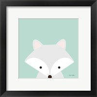 Framed Cuddly Fox