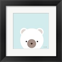 Framed Cuddly Bear