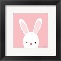 Cuddly Bunny Framed Print