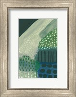 Framed Salt Shrub III Green
