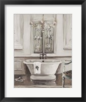 Framed Classical Bath III Gray