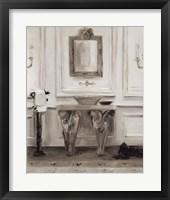 Framed Classical Bath I Gray