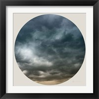 Framed Cloud Circle I