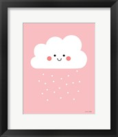 Framed Happy Cloud I