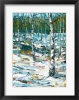 Framed Blue Winter