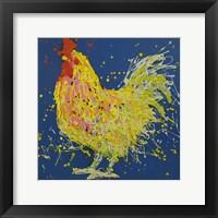 Framed Dante The Rooster