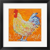 Framed Elmer The Rooster