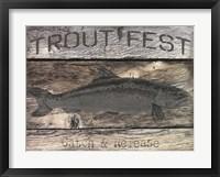 Framed Trout Fest