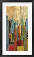 Framed Towerscape I