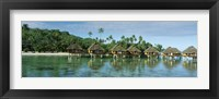 Framed Lagoon Resort, Island, Water, Beach, Bora Bora, French Polynesia,