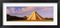 Framed El Castillo Chichen Itza Yucatan Mexico
