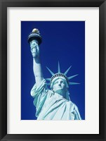 Framed Statue Of Liberty, New York