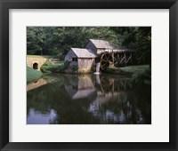 Framed Mabry Mill Blue Ridge Parkway Virginia