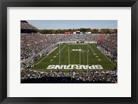 Framed Spartan Stadium, Michigan State University