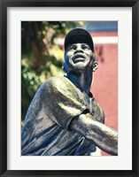Framed Willie Mays Statue In AT&T Park, San Francisco, California