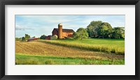 Framed Field With Silo And Barn In The Background, Ohio