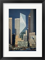Framed Modern Architecture In City, Seattle, Washington