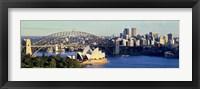 Framed Scenic View Of Sydney Opera House, Sydney, Australia