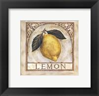 Framed Fancy Lemon