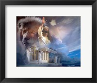 Framed Lion Of Judah