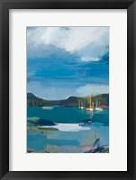 Framed Coastal Display II