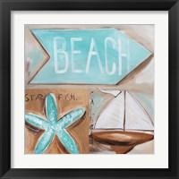 Framed Where's the Beach?
